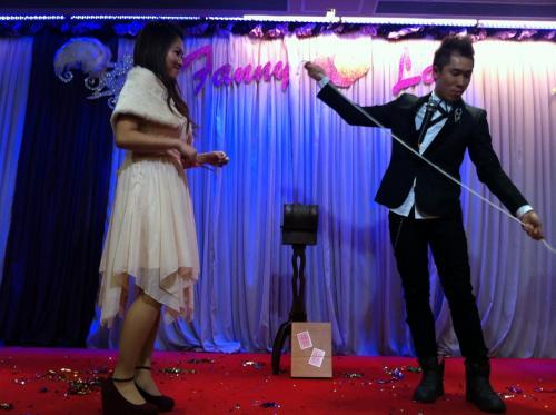 Wedding Stage Magic